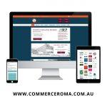 Commerce Roma Website