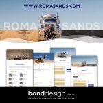 Roma Sands Website by Bond Design